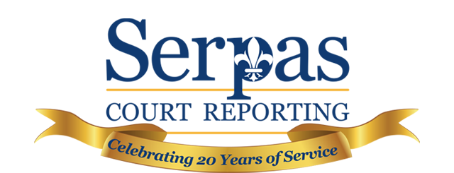 Serpas Court Reporting Twenty Years